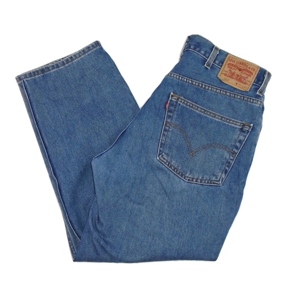 Men's Levi's 550 Relaxed Fit Jeans Size 38